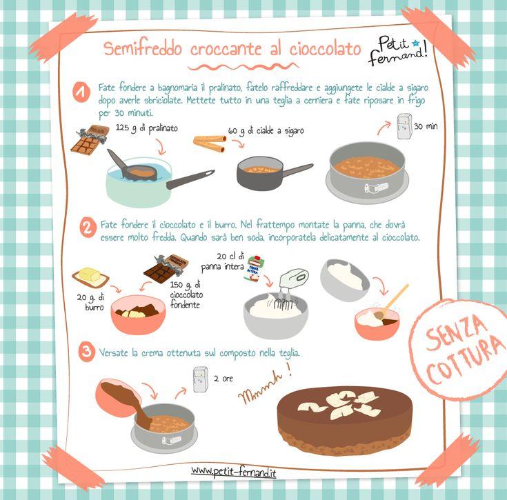 Scoprite i nostri laboratori di cucina per bambini. Oggi facciamo il semifreddo croccante al cioccolato!