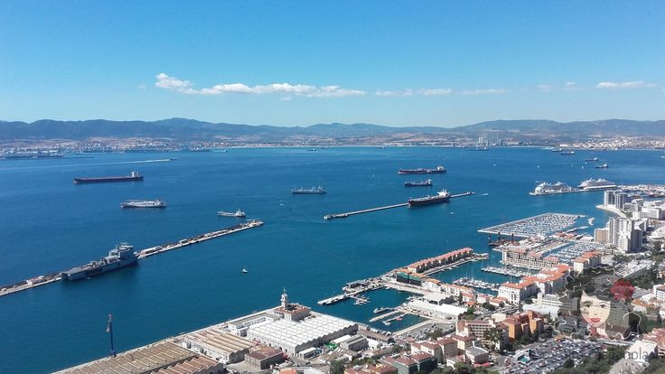 The view from the Upper Rock. Gibraltar, September 2016. www.mialmaespanola.pl