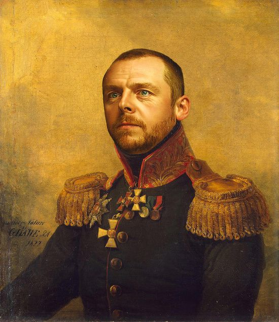 Best Celebrities Th Century Military Generals Images On - If celebrities were 19th century military generals they would look like this