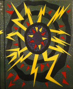 Design binding by Tini Miura of Allen Ginsberg's Howl.  Grabhorn-Hoyem, San Francisco, 1971. 11.5 x 8.75 inches Bound in 1986