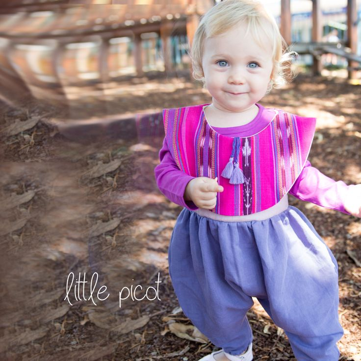 little picot A/W 15 - Jimena Jumpsuit! Whimsical Eco-Friendly Clothing for little girls.  Handmade in Australia!