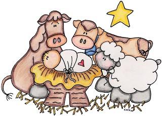 cute nativity clipart