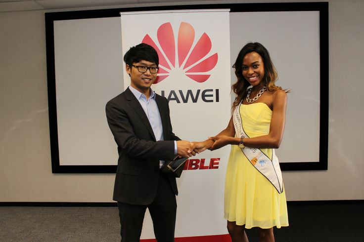 Miss SA 2015 finalists receive their very own Huawei Mate7 devices