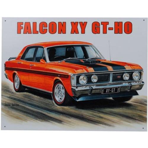 Ford Falcon XY GT- HO Car Tin Sign from Sarah J Home Decor. $32.95