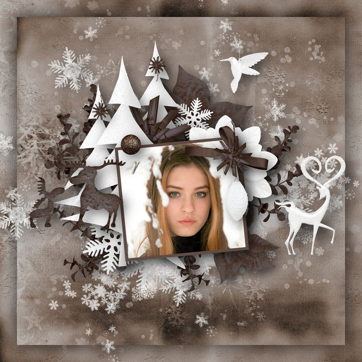 """""""Hello Winter"""" by Designs by Brigit, https://pickleberrypop.com/shop/product.php?productid=61790&page=1, photo Adina Voicu, Pixabay"""
