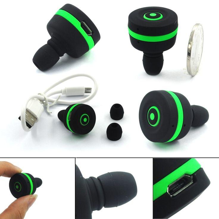 BenGoo Slim Mini Smallest Bluetooth Version 3.0 Wireless Earbuds