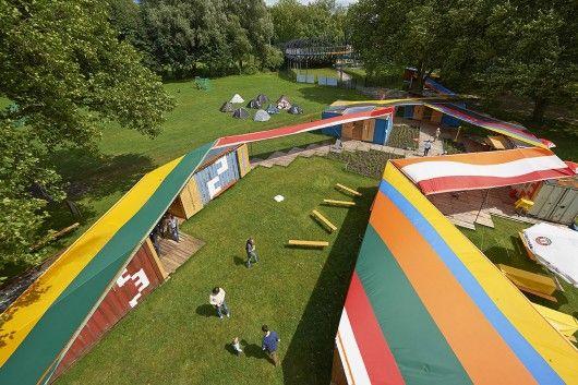 Visitor Center Emscher Village / Ooze Architects