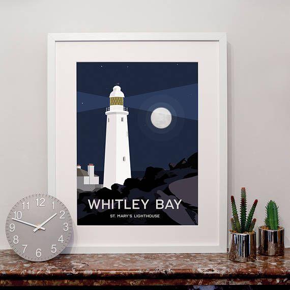 Whitley Bay Art Print Art Art Prints Prints