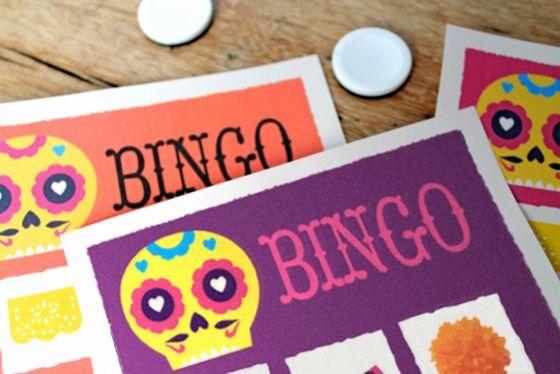 Day of the Dead fun games (Bingo, pin-the-head-on-the-skeleton, etc)