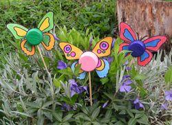motýlkové zápichy