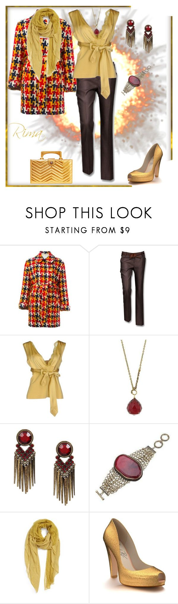 """""""Ready for fall..."""" by rima1205 ❤ liked on Polyvore featuring Moschino, SCERVINO STREET, 1928, Remi & Reid, Shoes of Prey and Gucci"""