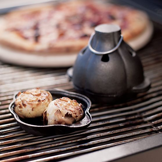Cast Iron Garlic Roaster in Barbecue | Crate and Barrel