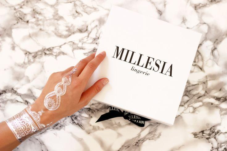 Millésia lingerie // tattoos