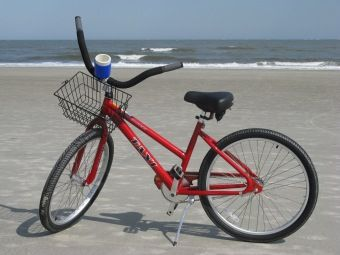 Cruise the beach on 2 wheels! Rent a bike from Tim's Beach Gear and he'll deliver them to you!