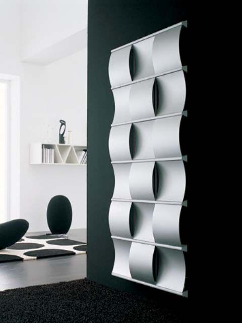 designer radiators, creative radiator, luxury radiators, silver radiators, unique radiators
