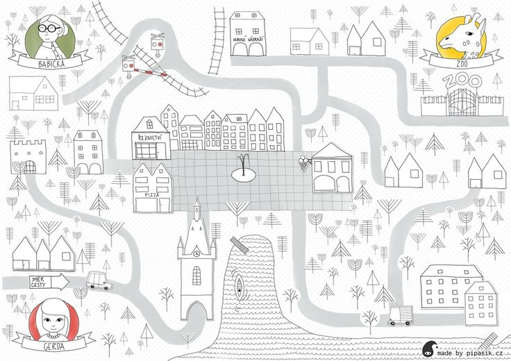 town maze  by pipasik