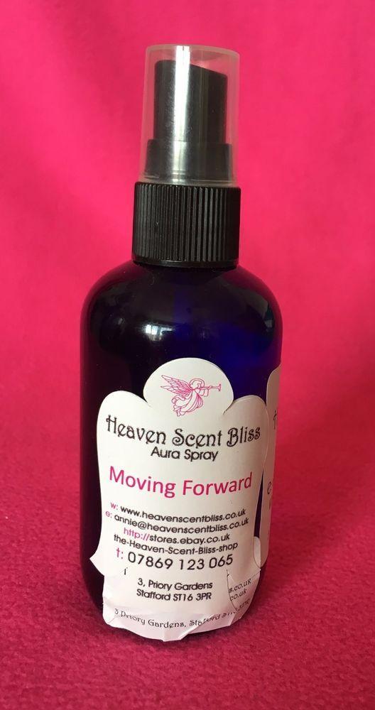 Aura Spray ~ Moving Forward (Aura Cleanse~Aura Mist~Energy Fragrance) #HeavenScentBliss