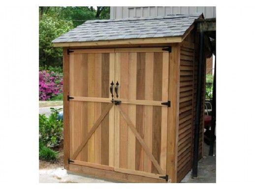 6x6 maximizer storage shed