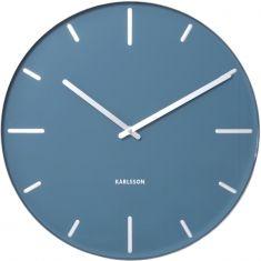 Karlsson Belt large wall clock in blue