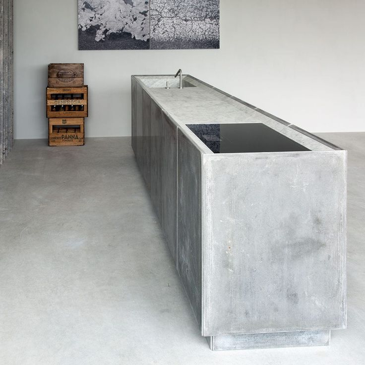 Contemporary kitchen / metal / wooden / natural stone - OCO KITCHEN by Marco W. Fagioli_Emanuel Gargano - Vaselli Marmi