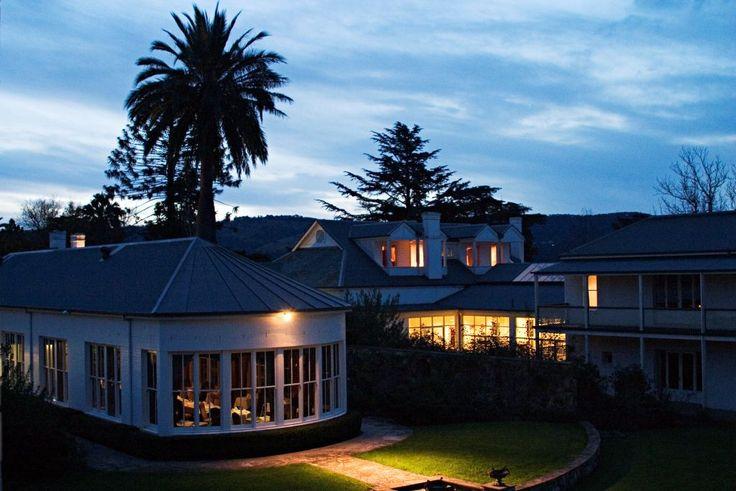 Stunning sunsets @ Chateau Yering Hotel