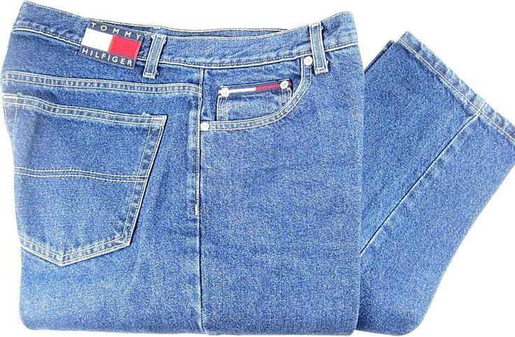 Tommy Hilfiger Women Slim Jeans Size 15/32  Waist 32 Inseam 32 Made USA. TTT 112 #TommyHilfiger #SlimSkinny
