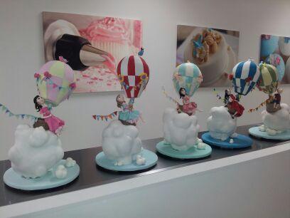 Balloon cake, finished masterpieces Tutor: Louisa Massignani from Cakesalouisa