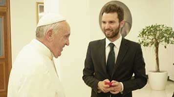 Papa Francesco per la prima volta sul grande schermo, in una storia basata sui Vangeli Beyond the Sun