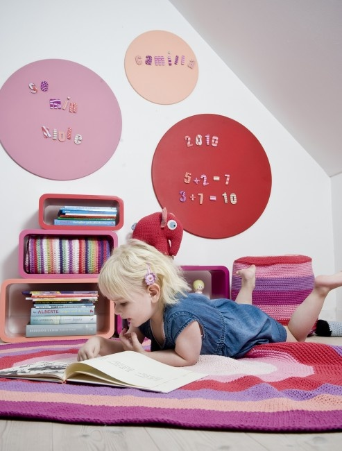 Sebra Coral Shades Oval Book Shelves- Available online at Nubie Modern Kids Boutique-Free Delivery   Nubie - Modern Baby Boutique