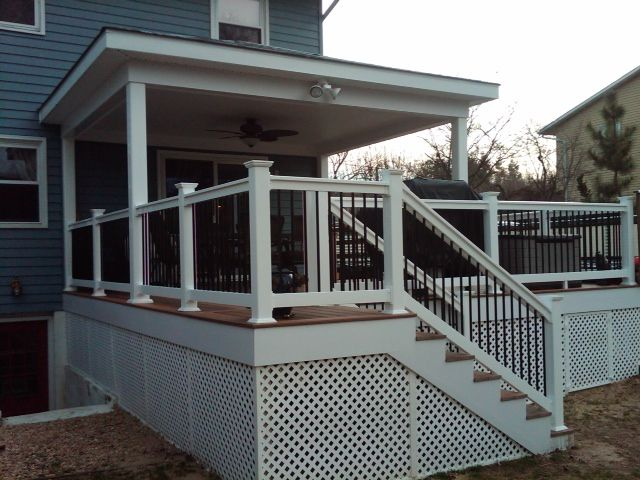 After Pic New Composite Fiberon Horizon Ipe Color Deck