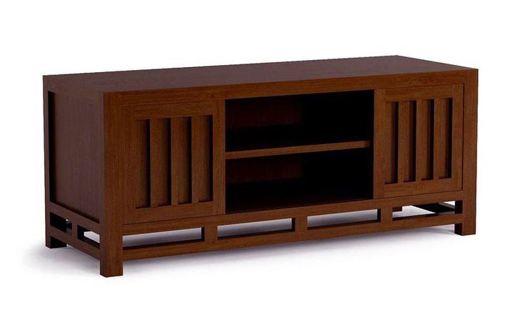 Meuble t l vision wenge 120 cm milano tv table pinterest d co salon meuble dan acajou - Meuble tv encadrement ...