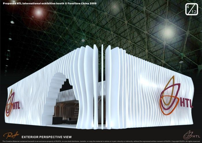 exhibition booth design 08-09 by Michael Coloso at Coroflot.com