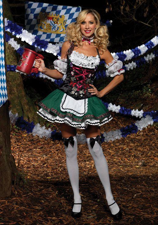 German Beer Girl Halloween Costume Adult Woman Female Trick or Treat !  Buy it here http://www.sexycheapunderwear.com/alpine-cuties/german-beer-girl-costume-5.html