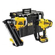 Dewalt DCK264P2 18V 5.0Ah 1st & 2nd Fix Cordless Nailer Kit