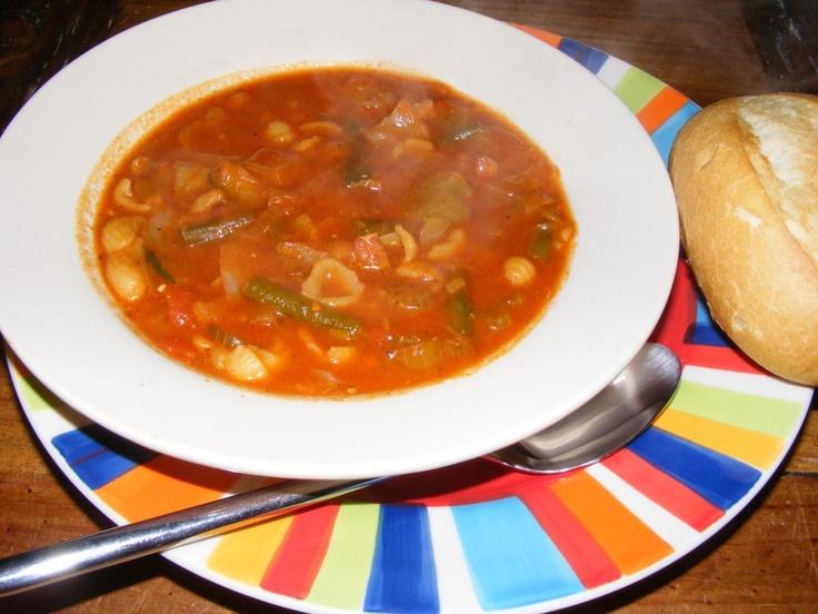Feel Good Minestrone Soup
