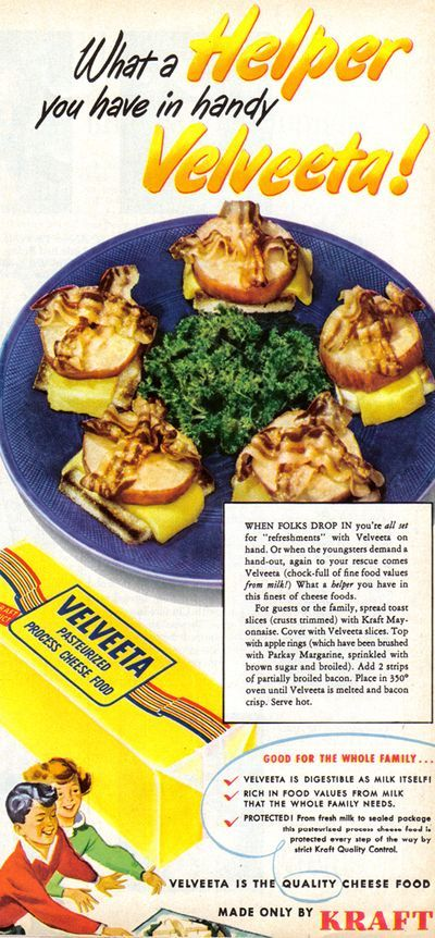 mmmMMmm!  mayonnaise, velveeta AND bacon all in one recipe. I can hear your heart pounding from here!