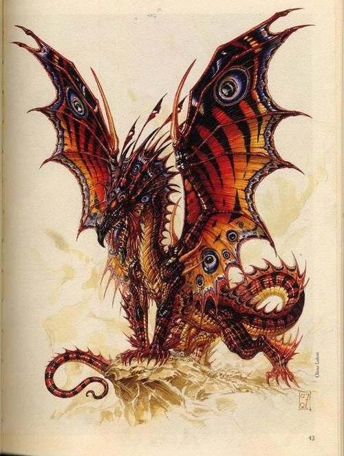 'Dragon' by Olivier Ledroit.