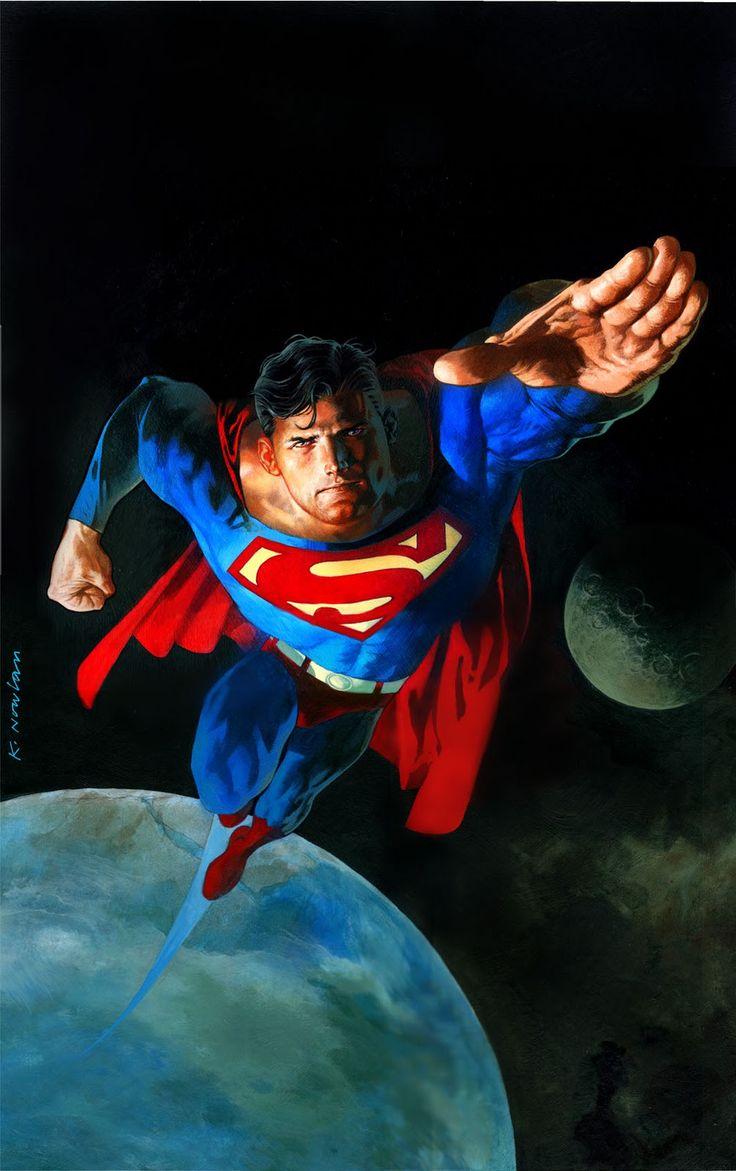 Superman by Kevin Nowlan | Comic Art: Man of Steel ...