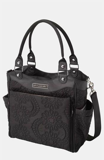 Great caryall! Black Floral Petunia Pickle Bottom Diaper Bag