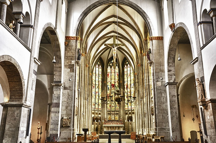 St Ursula Basilica Romanesque Cologne Cathedral