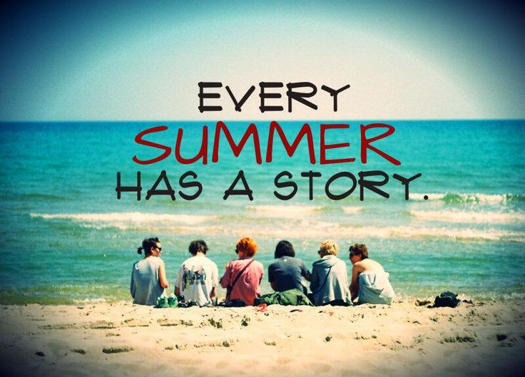 Summer Story Quote With Photo