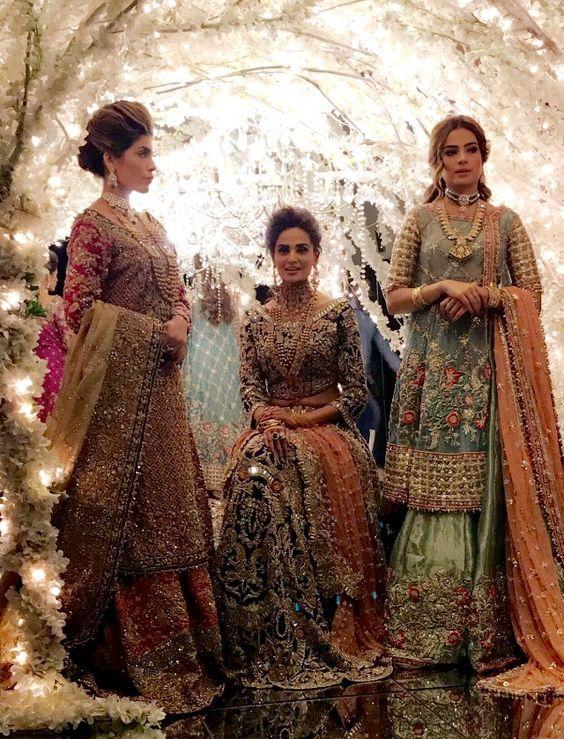 100 Pakistani Bridal Dresses 2018 For Wedding Parties 8: 100+ Pakistani Bridal Dresses 2018 For Wedding Parties (14