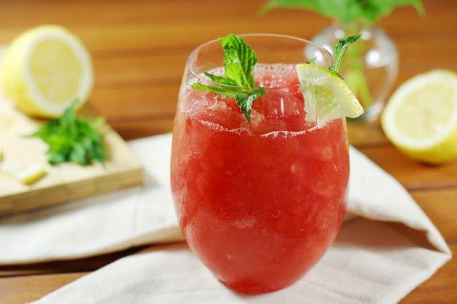 The Kitchen is My Playground: Watermelon-Moscato Slush {Summer Fun with #BlackBoxWines}
