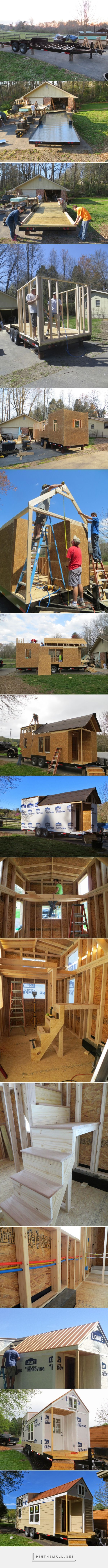How to Build a Tiny House: The Robins Nest by Brevard Tiny House Co.... - a grouped images picture - Pin Them All