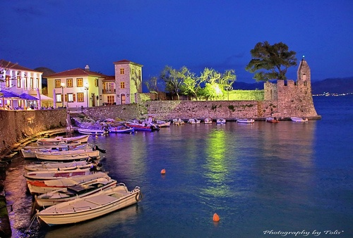 GREECE CHANNEL | Harbor of Nafpaktos, Greece