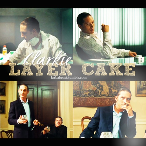 Tom Hardy in Layer Cake.  This was just on cable this weekend.  Maybe Comcast is monitoring my TH pinning habits and rewarding me with TH movies? Too good to be true.