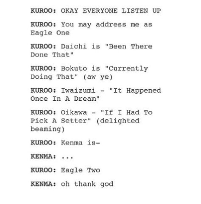 Of course! Kenma is special!