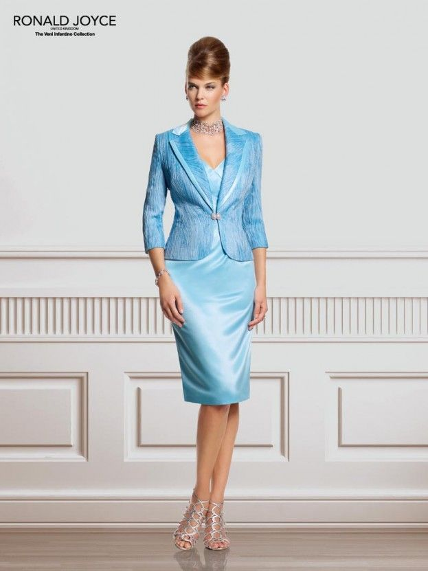 Check out these mother of the bride outfits by Ronald Joyce
