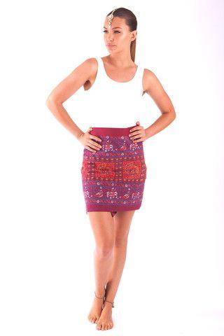 Hippie Chic Rajasthani Wrap Skirt $35