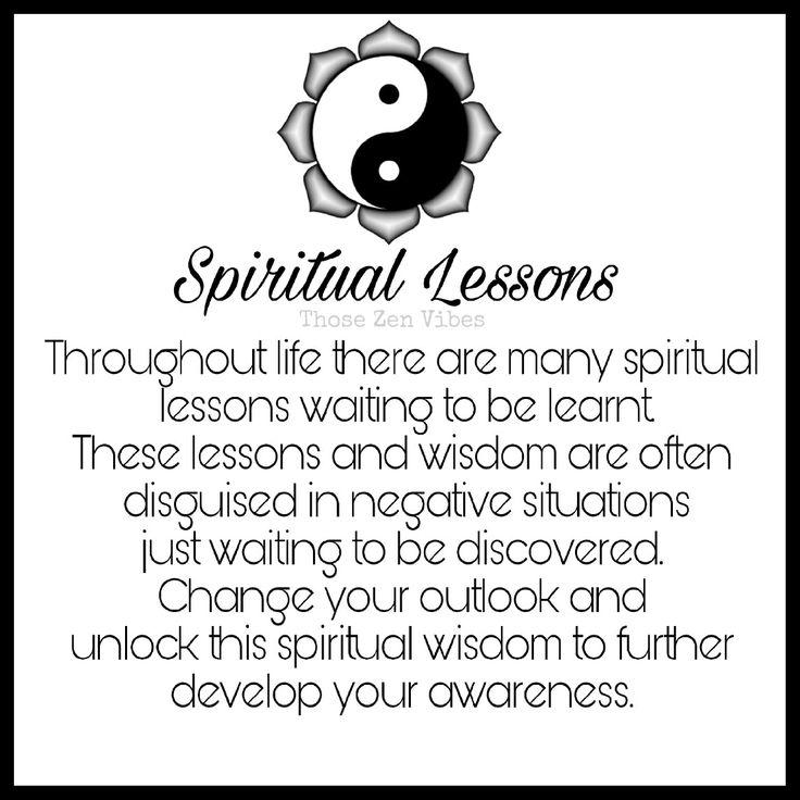 Spiritual Lessons 🌸🕉